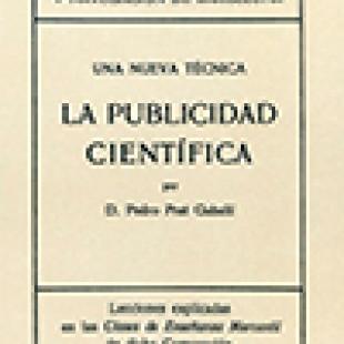 LA PUBLICIDAD CIENTÍFICA – Pedro Pratt